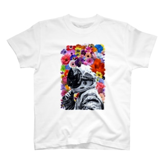 ASTRONAUT and FLOWERS T-shirts