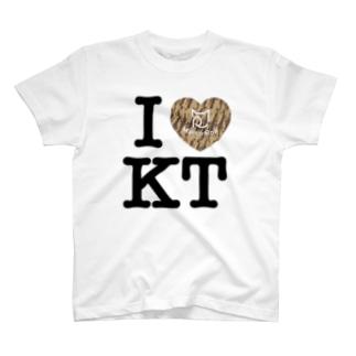 I ♥ Kiji Tora Tシャツ T-shirts