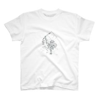 日本スケッチ🇯🇵✏️ T-shirts