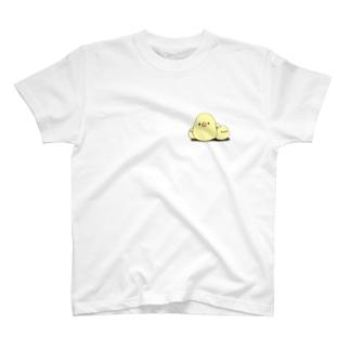 ひよこでいっぱい T-shirts