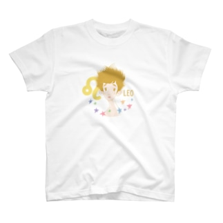 【星座シリーズ】獅子座LEO T-shirts