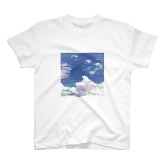 irodori clouds T-shirts