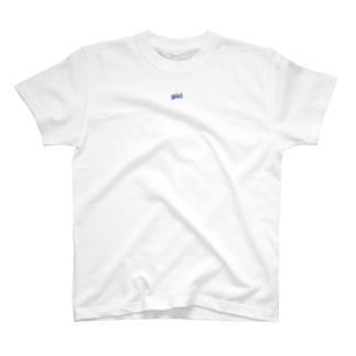 胸に女の子背中に男の子T T-shirts