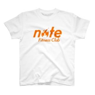 noteで話題の「note Fitness Club」を応援するTシャツ Tシャツ