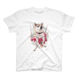 柴犬16 T-shirts