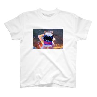 小さい日本酒(焚き火) T-shirts