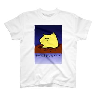 抜けないネコ T-shirts