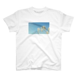 秋空 T-shirts