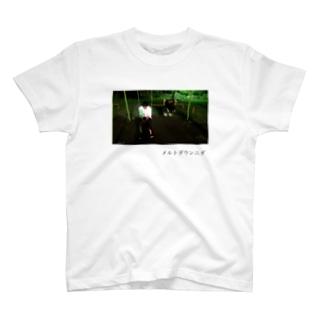 メルトダウンニダT(エモ写真付きver.) T-shirts
