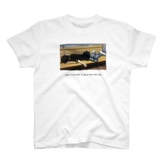 こういう時、どうしたら良いかわからないの。T T-shirts