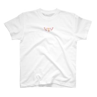 鹿兎×白鹿シロ008【両面プリント】 T-shirts