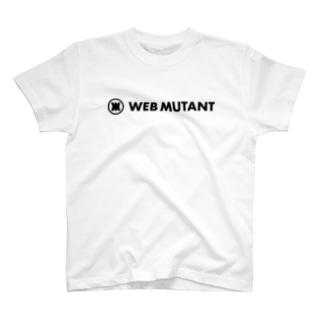 WEB MUTANT ロゴTシャツ T-shirts