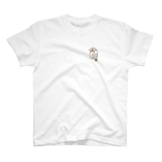らくがきスズメ T-shirts