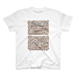 tate GURUGURU BEAGLES&DOGS T-shirts