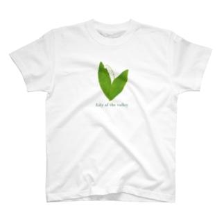 スズラン(濃ロゴ) T-shirts