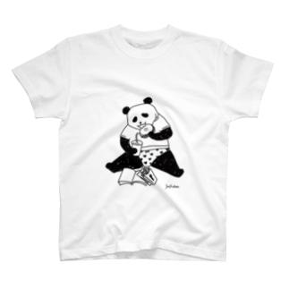 暴食パンダ T-shirts