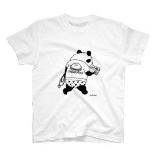 職質パンダ T-shirts