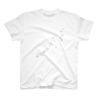 潜るさんま T-shirts