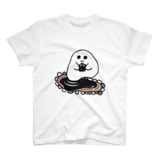 石ころポユ君ーモリオン T-shirts
