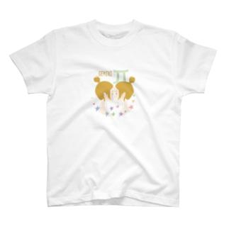 【星座シリーズ】ふたご座GEMINI T-shirts