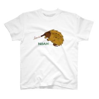 ハリモグラ T-shirts