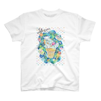 アイスクリーム T-shirts