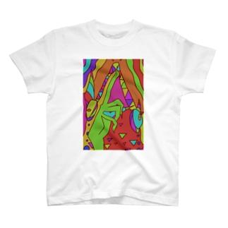 山羊Tシャツ T-shirts