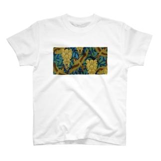 鳥柄鈴蘭模様T T-shirts