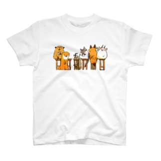 みんなでお茶しましょ T-shirts