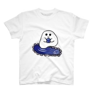 石ころポユ君ータンザナイト T-shirts