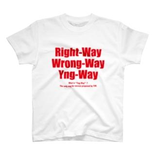 Yng-Way俺のやり方(赤バージョン) T-Shirt