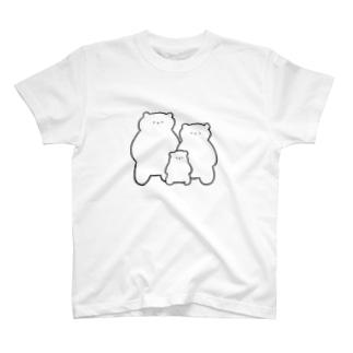 こまざわさんファミリー T-shirts
