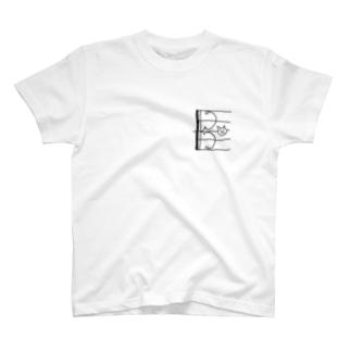 ドネコ(ハ音記号アルト) T-shirts