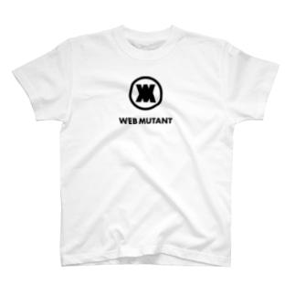 WEB MUTANTロゴTシャツ2 T-shirts