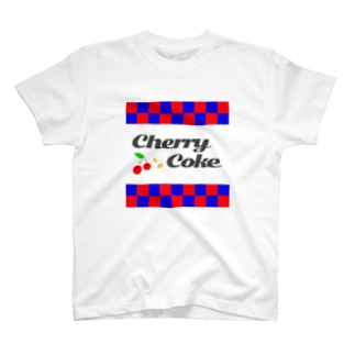 Cherry Coke❤️💙 T-shirts