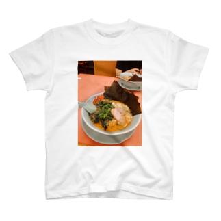 山岡家特製味噌 ~硬め濃いめ多めほうれん草海苔トッピング~ T-shirts