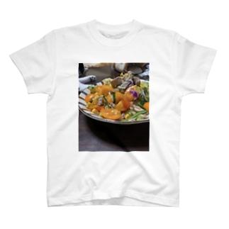 サバ缶サラダうどん T-shirts