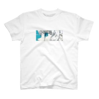 青と熱 T-shirts