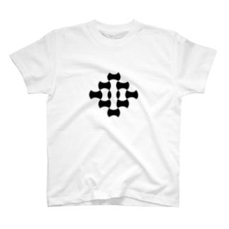 七宝と分銅繋ぎ T-shirts