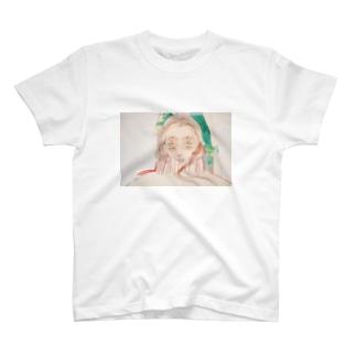 神様ドローイング ONE T-shirts