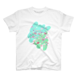 秋桜畑で会いましょう T-shirts