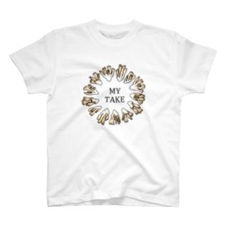 スーパーきのこ まいたけ T-shirts