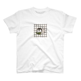 ほのぼの子ペンギン / 読書ver. T-shirts