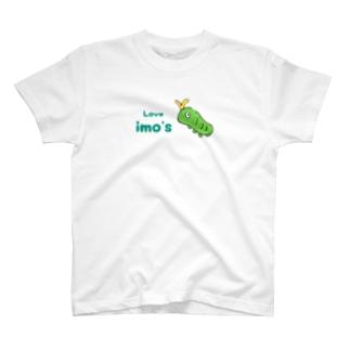 ゆるイモ あげは T-shirts