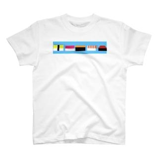ドットスシ T-shirts