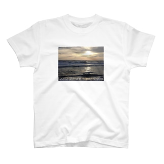 ShimaneⓉ『Nagahama sunset.1』 T-shirts