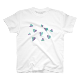 ハートの葉 T-shirts