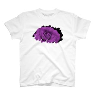 むらさき色 T-shirts