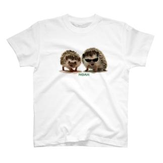 ハリネズミ(ペア) T-shirts