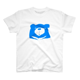 Light blue-with white edge T-shirts